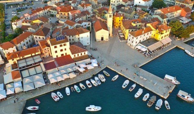 Fazana:vacanze, appartamenti privati (Istria, Croazia)