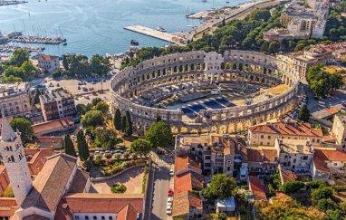 PULA: hoteli, apartmani i privatni smještaj (Istra, Hrvatska)